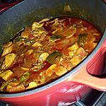 recette Sauté de porc basquaise (légumes et chorizo)
