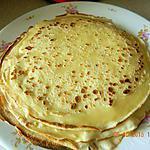 recette Pâte à crêpes légères et rapide