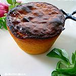 recette flans de potimarron au curry et comté