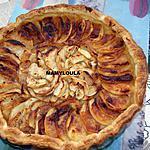 recette Tarte aux pommes à l'ancienne et aux écorses d'oranges confites