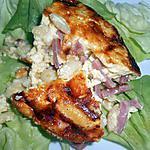 recette CLAFOUTIS DE PATE JAMBON FROMAGE (idée prise à Oh la gourmande)