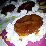 recette Mini-tatin aux pommes au caramel beurre salé