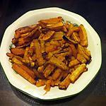 recette Frites de butternut