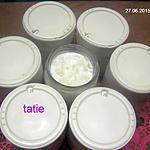 recette Yaourts aux poires.yaourtière.