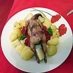 recette cailles farcies aux restes de bourguignon