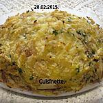 recette Hachis de chou-fleurs au boeuf haché.gratiné.
