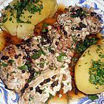 recette Cervelles de porc au poivre vert
