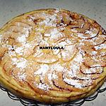 recette Gâteau mi flan / mi far aux pommes