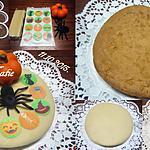 recette Gâteau chocolaté.Halloween.