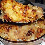 recette gratin de pommes de terre au jambon de dinde....
