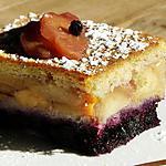 recette Moelleux Pommes Myrtilles