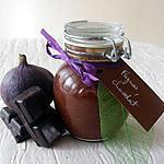 recette Confiture de figues au chocolat
