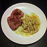 recette Rôti de veau basse température mogettes de vendée