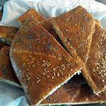 recette pain au thynm huile d'olive  خبز بالزعتر