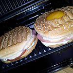 recette Burger croque monsieur et madame