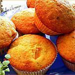 recette Muffins au noix de cajou et mangue séché
