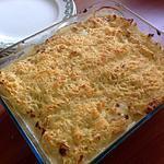 recette Saumon et poireau en gratin