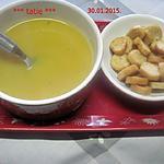 recette Soupe betternut et pommes de terre.