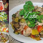 recette Tripotée de légumes du SUD.et viande de porc.