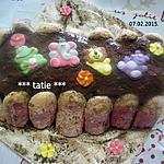 recette Tiramisu au nutela.biscuités.