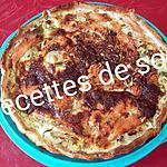 recette Tarte saumon fumé et poireaux