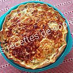 recette Tarte aux poivrons et trois fromages