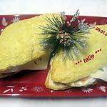 recette Pains gruyère garnis.œuf.jambon fumé.