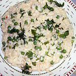 recette RISI E BISI (risotto aux petits pois)