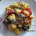 recette Gnocchi aux courgettes