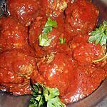 recette Boulettes de boeuf à l orientale