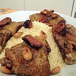 recette Tajine de poulet aux amandes