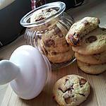 recette Cookies au pépites de kinder