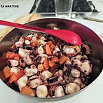 recette Salade de poulpes marinées à la provençale