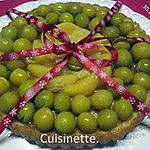 recette Gâteau aux mirabelles et agrumes de fruits.sans cuisson.