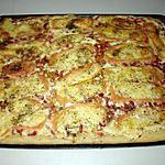 recette Pizza aux lardons et munster