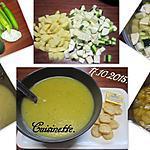 recette Soupe de courgettes et pommes de terre.