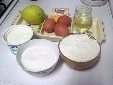 recette de g teau la cr me fraiche au citron par cuisinette. Black Bedroom Furniture Sets. Home Design Ideas