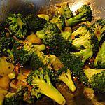 recette Broccoli sauce aux huîtres