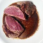 recette ..   ou steak sauce au Porto et chocolat