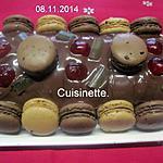 recette Roulé au chocolat et macarons