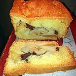 recette Cake à la Banane, aux Pommes et au Chocolat