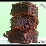 Brownie chocolat, noix de pecan, caramel au beurre salé