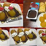 recette Viennoiseries au chocolat et abricots.