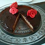 recette Gâteau 3 chocolats