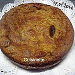 recette Pudding aux croissants et raisins secs.