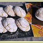 recette Amaretti au Citron ( Macaron Italien)
