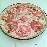 recette Pizza au fromage blanc fines herbes et ail