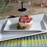 recette Tartare de saumon et radis croquant au Carré Frais
