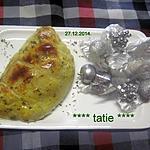recette Feuilletées d'aiguillette de dinde.courgette. fromage.