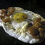 recette Oeufs aériens à la ciboulette et aux tomates cerise